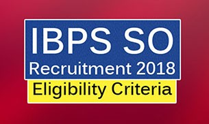 IBPS SO Recruitment 2018 || Apply Online IBPS Various Specialist Officers Vacancies