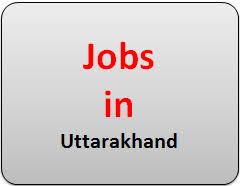 Govt Jobs In Uttarakhand