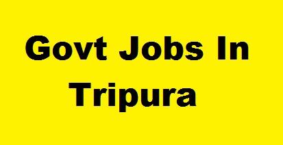 Govt Jobs In Tripura