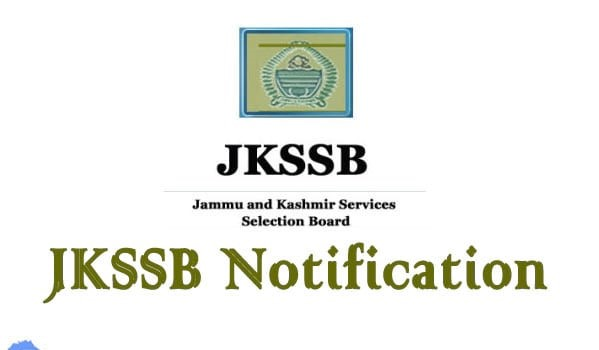 JKSSB Jr Assistant Recruitment