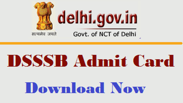 DSSSB Junior Clerk Tier1 Admit Card