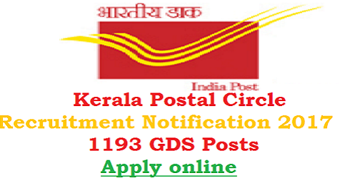 Kerala Postal Circle Recruitment