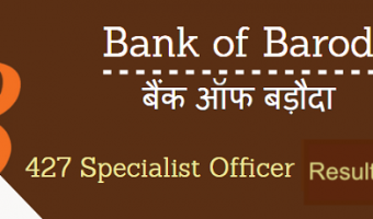 BOB SO Results 2018 | Check Specialist Officer Finance Scale I & II Online Test Shortlisted List @www.bankofbaroda.com
