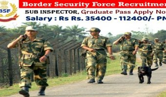 BSF SI Recruitment 2018 | Apply Online for 139 Sub Inspector (Works) & JE/SI (Electrical) Vacancies @bsf.nic.in