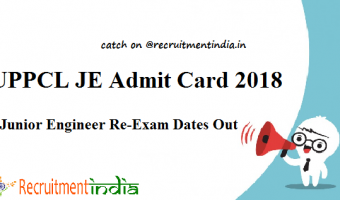 UPPCL Office Assistant Admit Card 2018   Check Stenographer Grade Exam Dates
