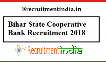 Bihar State Cooperative Bank Recruitment 2018 | Apply Online for 434 Multipurpose Assistant & Assistant Manager Vacancy