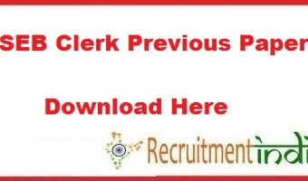 PSEB Clerk Previous Papers | Download Clerk-Cum-Data Entry Operator Question Papers PDF