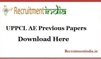 UPPCL AE Previous Papers || Download Uttar Pradesh Assistant Engineer Trainee Model Papers, Old Papers @ upenergy.in/uppcl